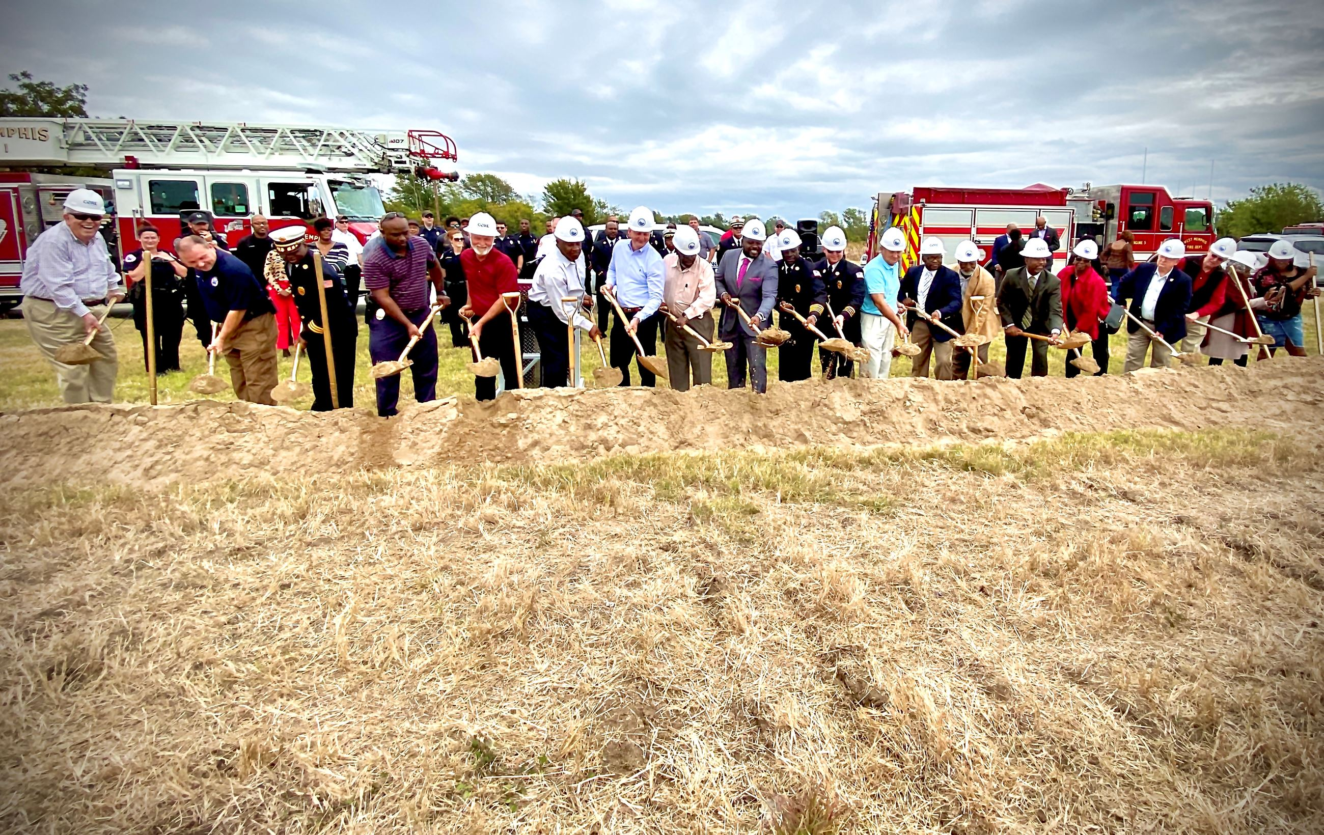 West Memphis breaks ground on new fire station/police substation and municipal courthouse