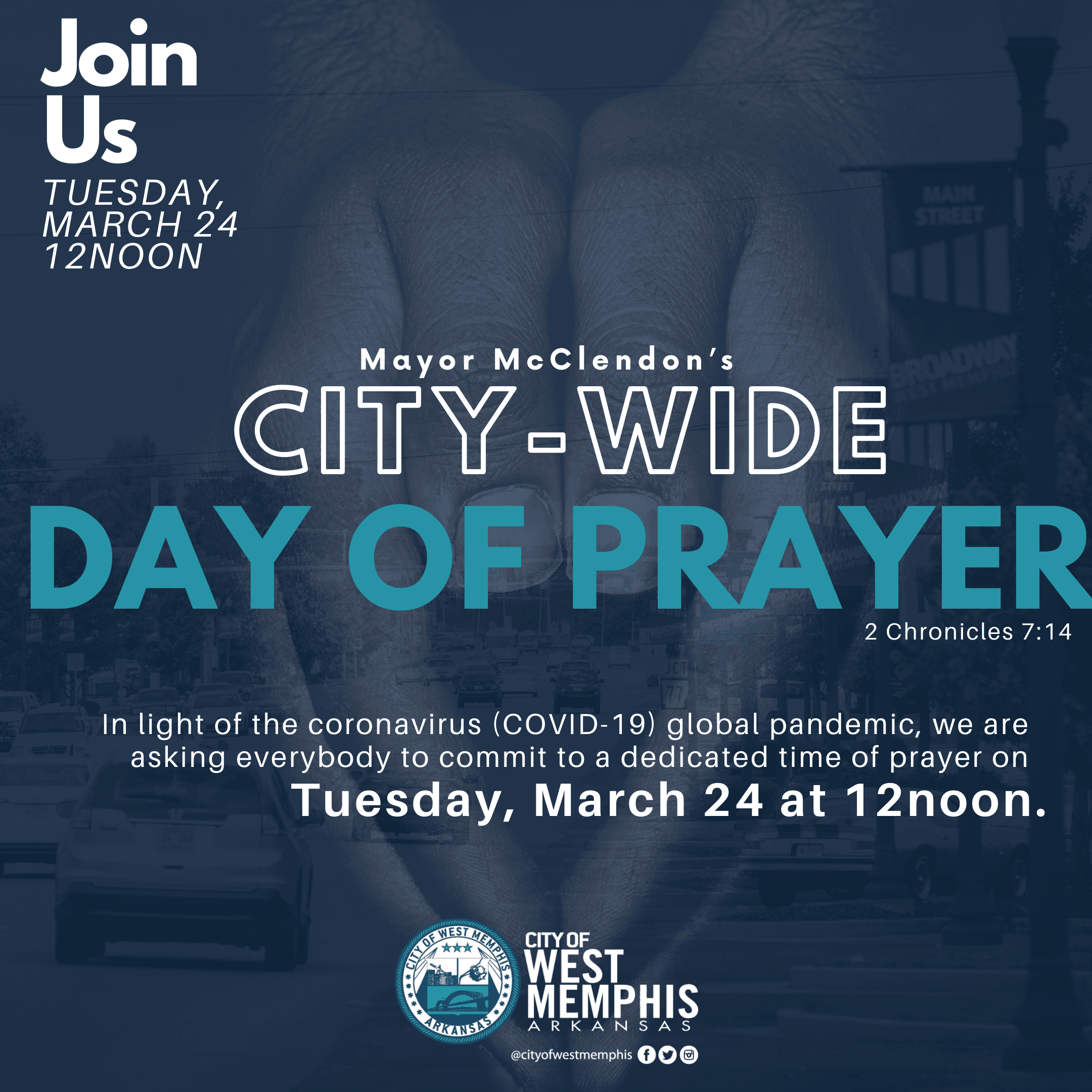 City wide Day of Prayer in West Memphis