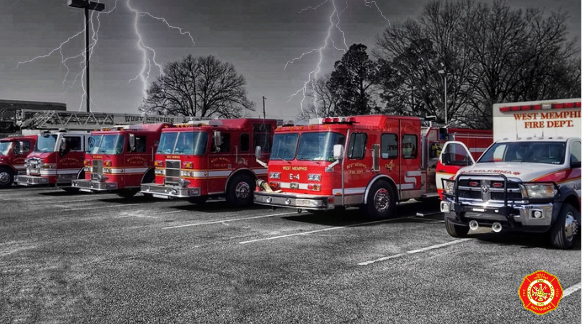 West Memphis Fire Department Engines